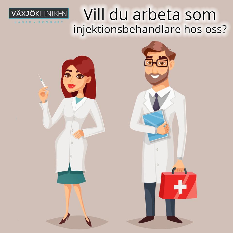 Vill Du Arbeta Som Injektionsbehandlare Hos Oss?