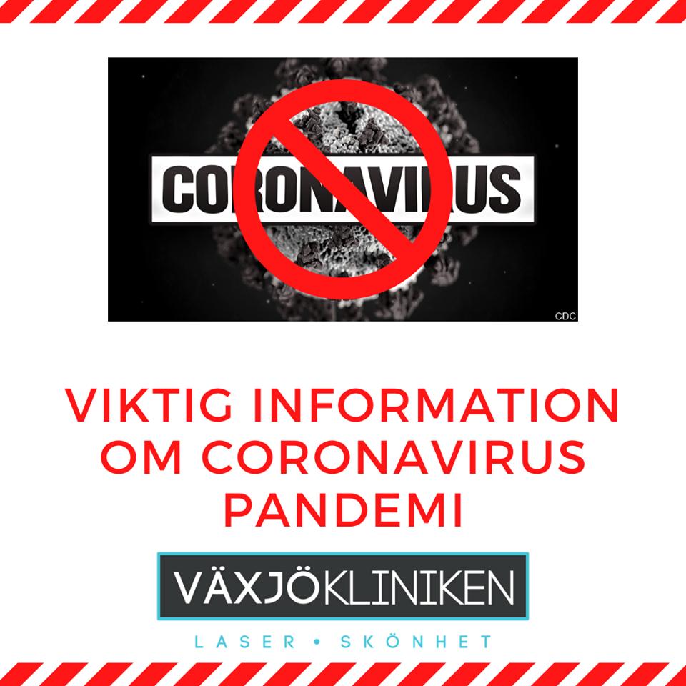 COVID-19: Vi Bryr Oss Om Din Hälsa På Växjökliniken