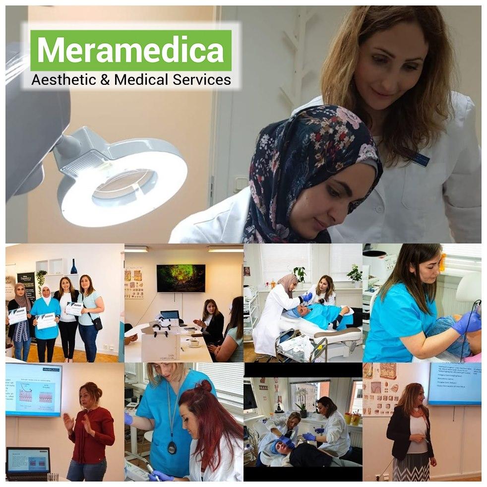 اكاديمية ميرامديكا للتجميل والخدمات الطبية بالتعاون مع Växjökliniken  تستمر في تقديم دورة تدريبية مركزة في التجميل والعناية بالبشرة باللغة العربية للعرب المقيمين في السويد.